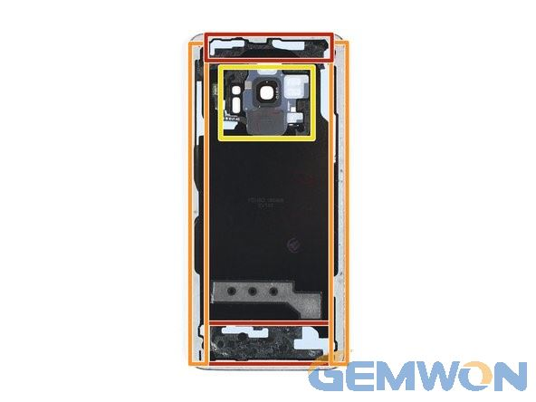 adhesive of samsung back cover
