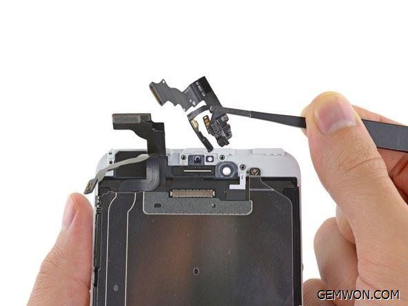 remove the front camera