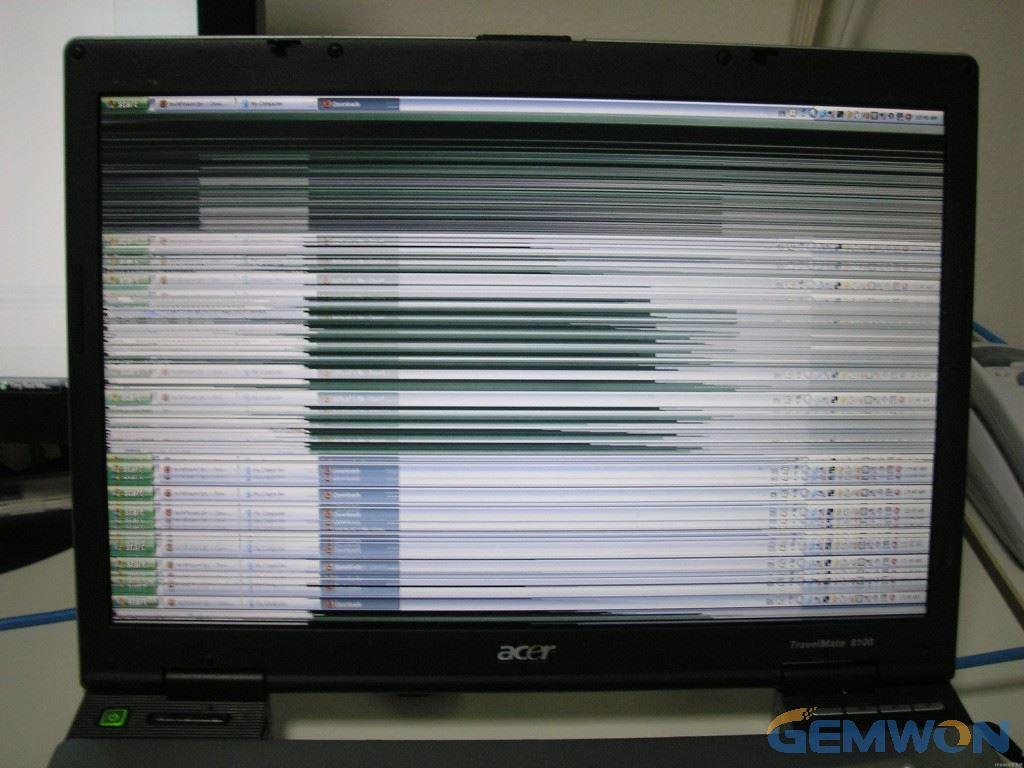 laptop screen flickering